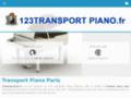 Détails : transport piano