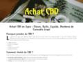 Détails : Achat de CBD en ligne : fleurs, huiles, liquides, bonbons de cannabis légal