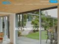 Détails : Porte fenêtre, un spécialiste : ACL Menuiserie à Cogolin