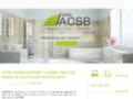 Capture du site http://www.acsb-deco.com/