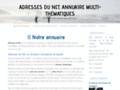 Détails : Adresses du Net, les incontournables