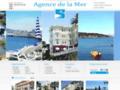 IMMOBILIER ALPES-MARITIMES 06 : Agence de la Mer immobilier à Juan les Pins