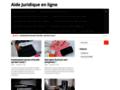 Aide, assistance et service juridique en ligne