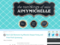 Details : the ramblings of miss aimymichelle