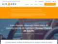Détails : parking roissy discount
