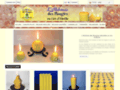 Détails : L'Alchimie des Bougies naturelles en cire d'abeille
