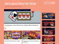 Some Specials Facts at Online Casino Sites