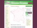 Capture du site http://www.allo-commercants.fr