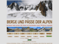 Alpen: Umfangreicher Pässeführer