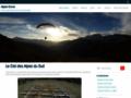 site http://www.alpes-envol.fr