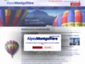 promenade en montgolfière sur www.alpes-montgolfiere.fr