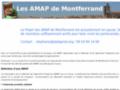 AMAP Montferrand Site d'une association qui regroupe des consom'acteurs situés dans le quartier de Montferrand afin de créer des partenariats AMAP avec des paysans locaux.