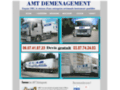 Capture du site http://amtdemenagement.com