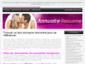 rencontre adultere sans inscription