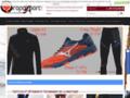 Détails : déstockage de chaussures de sports