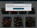 livraison fleurs pas cher sur www.aquarelle.com