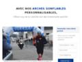 Détails : Arche pour marathon