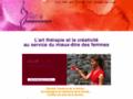 Art thérapie redonnant le sourire aux femmes en Belgiques