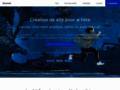Détails : Création de sites pour artistes.pro