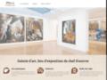 Détails : Galerie d'art, lieu d'exposition et de commerce