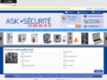 Capture du site http://www.ask-securite.com/