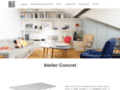Détails : Atelier Concret : mobilier sur-mesure