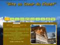 GITE AU COEUR DU CHALET en Belledonne près de prapoutel les 7 sept Laux gite Belledonne ou Grenoble