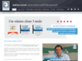 Capture du site http://auditionconseil-surdioptic.fr