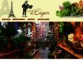 Au jardin d'Edgar la boutique du balcon et jardin terrasse sur Paris