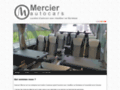Capture du site http://www.autocars-mercier.com
