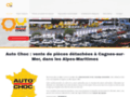 Autochoc Pièces Auto Alpes Maritimes - Cagnes sur Mer