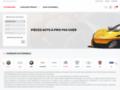 Détails : Vente de pièces détachées automobile