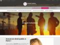 Détails : Maître Justine DEUBEL, votre avocate du droit public à Paris