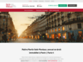 Détails : Maître Martin Salé-Moniaux, avocat en droit immobilier à Paris 1, Paris 4