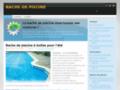 Détails : piscines