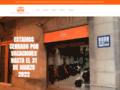 Capture du site http://www.barcelona-moto-rent.com/