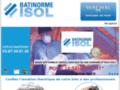 Détails : Batinorme Isol et mousse en polyuréthane projetée