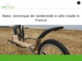 Beecyclo, remorque pour vélo