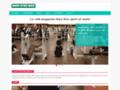 Détails : Site dédié au bien-être quotidien