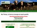 bio-thorey Vente directe une fois par mois, au détail, à la ferme, de viande BIO de bœuf, veau, et porc. Nous proposons aussi les mardi et vendredi de 10h 30 à 12h30 et 14h à 19 h du pain bio. Plus d'info sur www.bio-thorey.fr