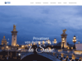 Capture du site http://www.bleuseine.com