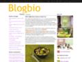 Blog de recettes bio.