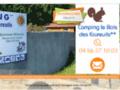 Le Bois des Ecureuils a Domazan   Camping Caravaning