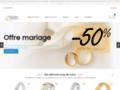 alliance mariage sur www.boutique-alliance.com