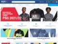 Détails : Boutique en ligne de vêtements de football