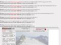 Bozonnet - Montagnes, voyages, photos, cv