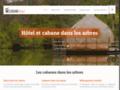 Détails : Cabane-hôtel, pour un séjour dans les arbres