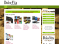 Détails : Cafés Dolce Vita, cafés en dosettes et en grains