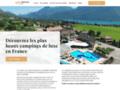 Détails : Campings de luxe de référence