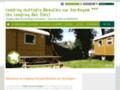 Flower  Camping des iles  Beaulieu sur Dordogne